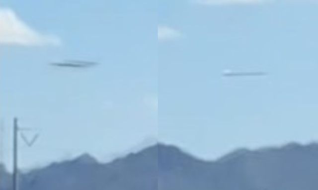 UFO News ~ Strange UFOs captured over Estrella Mountain and Globe, Arizona plus MORE UFOs%2BEstrella%2BMountain%2BArizona%2B%25282%2529