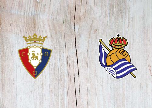 Osasuna vs Real Sociedad -Highlights 22 December 2019