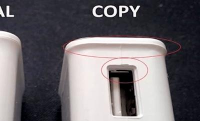 cara bedakan samsung charger asli