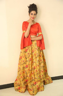 Actress Iraa Stills IN Floral Skirt at Vaadu Veedu O Kalpana Audio Launch  0035.jpg
