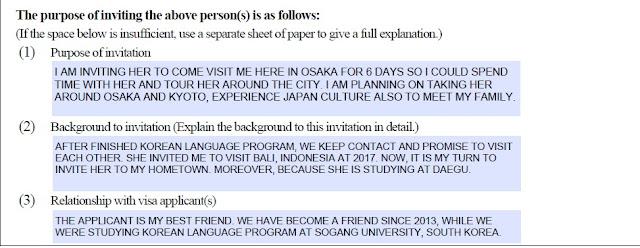 Membuat Visa ke Jepang