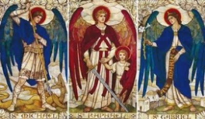 The Archangels — Saints Michael, Gabriel and Raphael