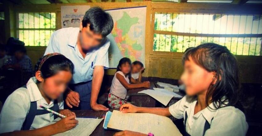 MINEDU: Docentes violadores no podrán volver a trabajar en colegios, recordó el ministro de Educación, Daniel Alfaro. - www.minedu.gob.pe