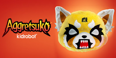 kidrobot Aggretsuko plush toy