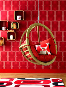 color decoration ideas Red