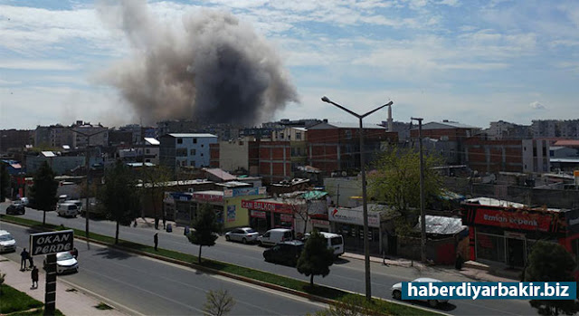 DIYARBAKIR-It was stated that a very mass explosion took place in the vicinity of the Police School and the Directorate of the Agile Force Branch of the Central Bağlar district of Diyarbakir. Reported that people are wounded in the blast.