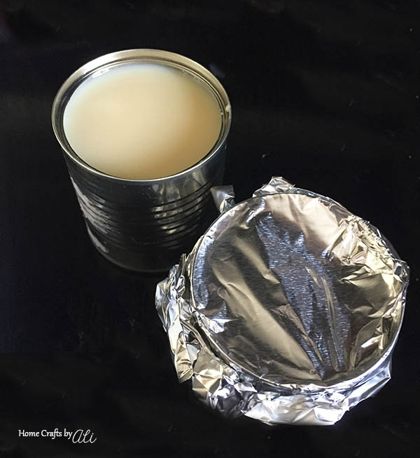 When making Dulce de Leche in the Instant Pot, wrap with aluminum foil