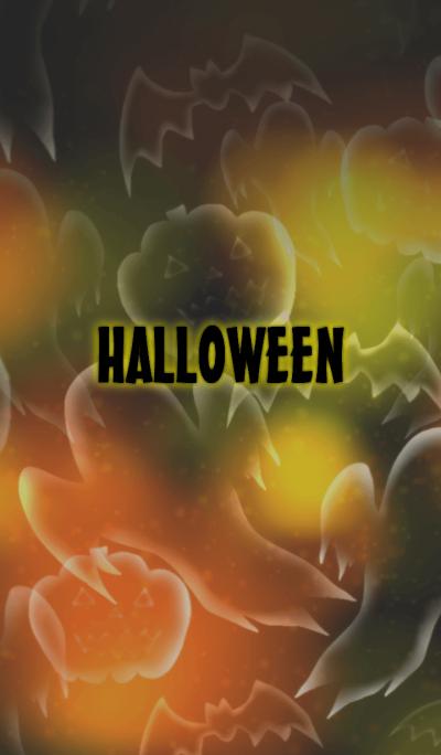 Halloween neon theme