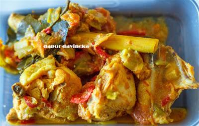 Resep Ayam Masak Woku