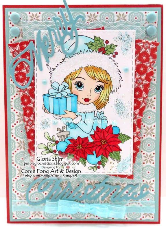 Featured Card for Star Stampz Challenge Blog