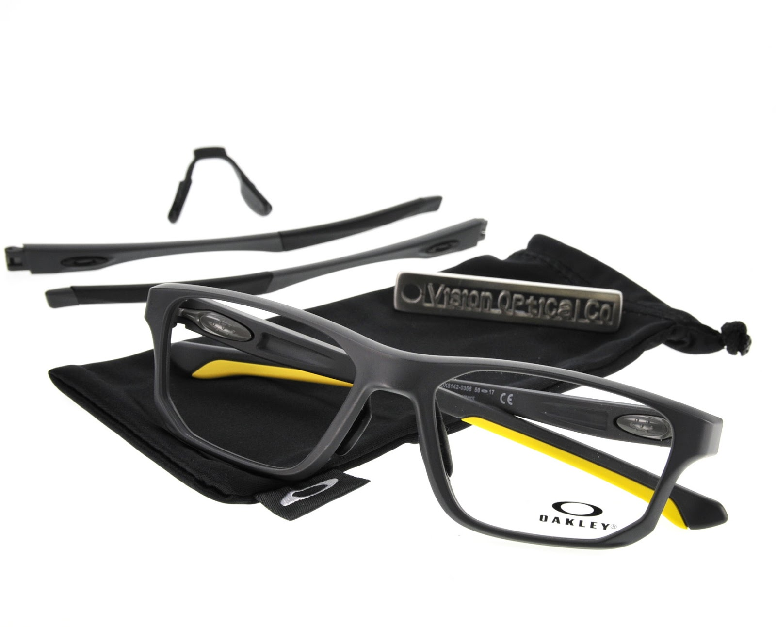 精明眼鏡公司: OAKLEY CROSSLINK FIT (Asia fit) OX8142 眼鏡