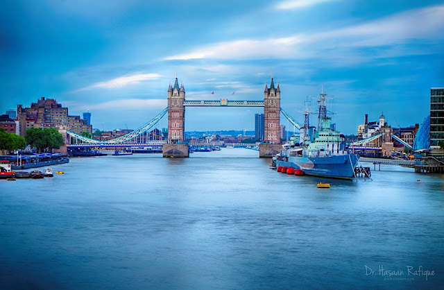 Photo: Tower Bridge at Twilight