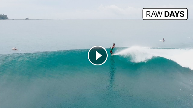 RAW DAYS Nias Indonesia Dreamy surfing session