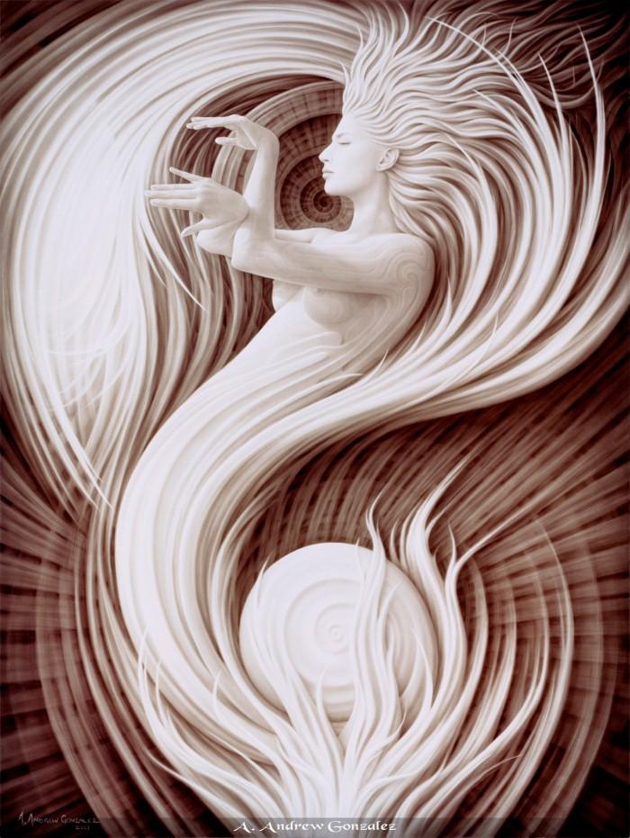 Тантрическое искусство. Andrew Gonzalez 5