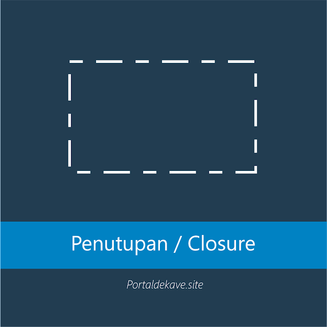 3. Penutupan (Closure)