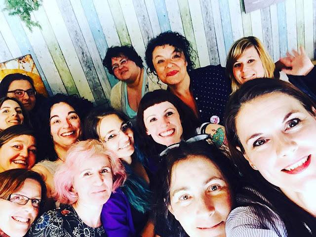 selfie de todo el grupo