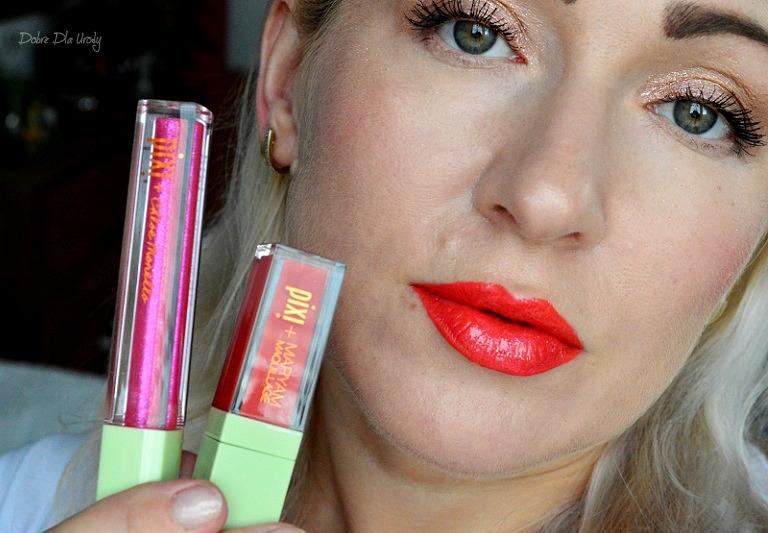 PixiPretties -  matowa szminka w płynie + lakier ( lukier ) do ust :)