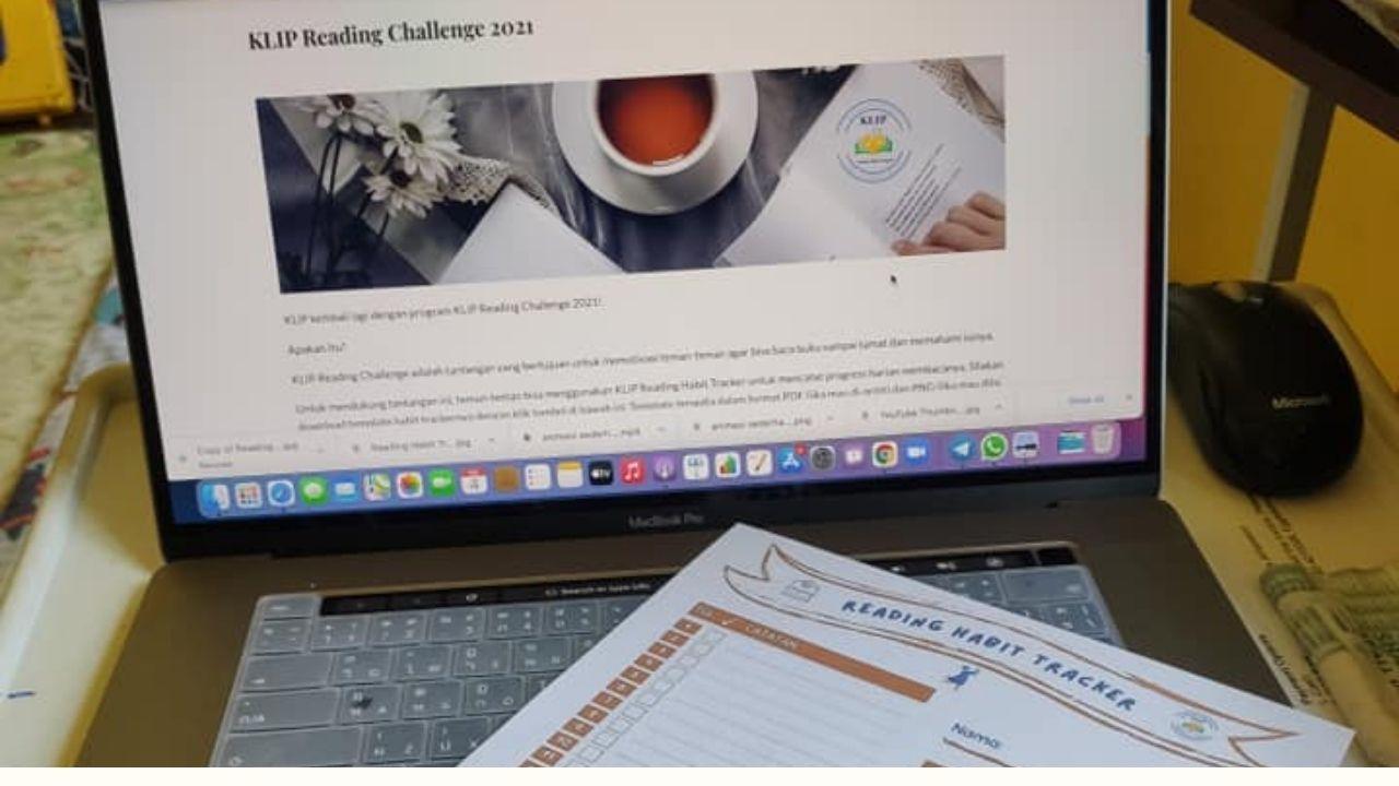 Reading Challenge dan Reading Habit Tracker