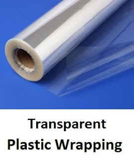 Transparent Plastic Wrapping for Sachets
