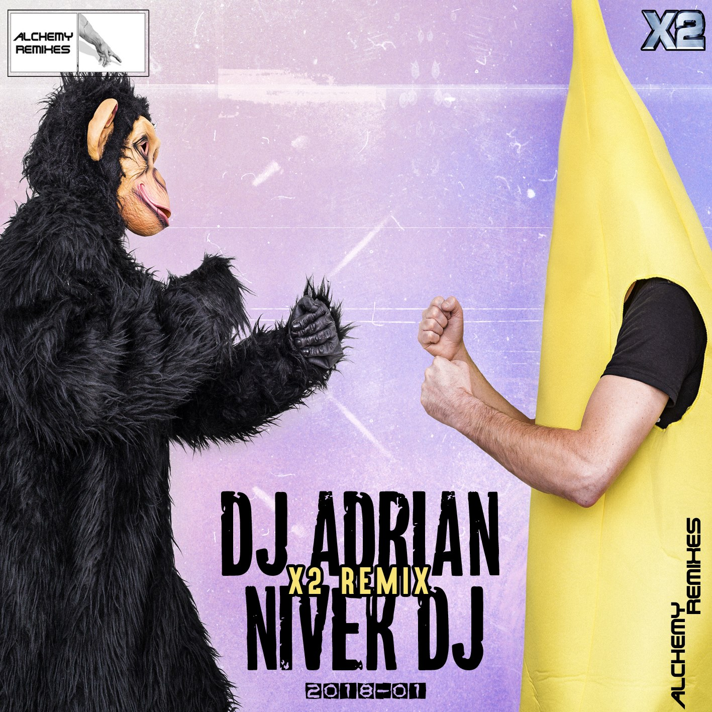 Dj Adrian Ft. Niver Dj Vol. 1 X2 Remix (2018)