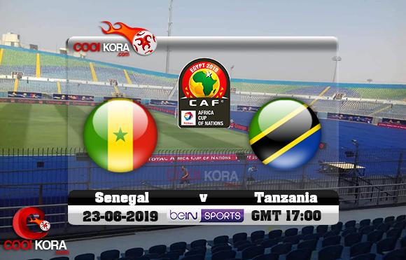 مشاهدة مباراة السنغال وتنزانيا اليوم 23-6-2019 علي بي أن ماكس كأس الأمم الأفريقية 2019