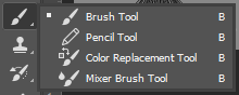 daftar tool dan fungsi photoshop