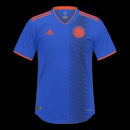 b2a1ee9b1 Descrição: Essas são as camisas que serão utilizadas pela Seleção  Colombiana na Copa América de 2019. A Adidas fez somente a Home e ao meu ...
