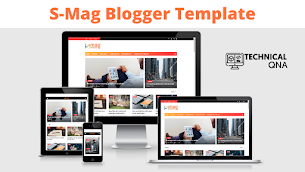 S-Mag Blogger Template | Perfect Light Weight Blogger Template - Responsive Blogger Template
