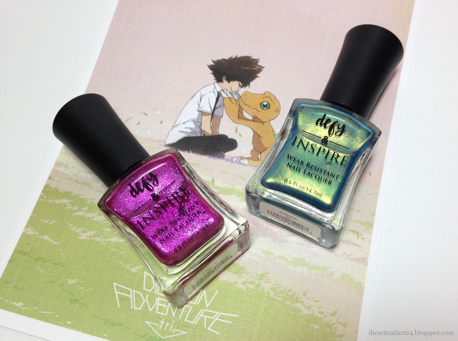 Defy & Inspire Nail Lacquer Swatches | I Heart Nail Art