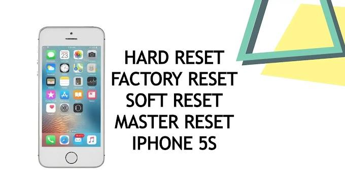 Easily Hard Reset Factory Reset Master Reset Apple iPhone 5S