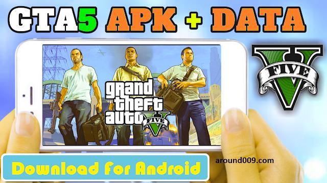 تحميل وتشغيل لعبة GTA 5 على الأندرويد مجانا شغالة 100% || ألعاب أندرويد
