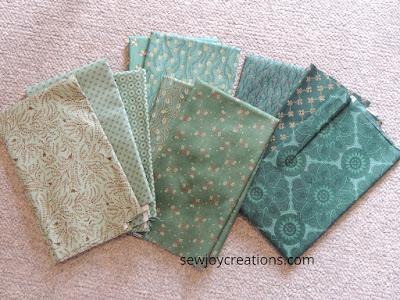 teal fabrics Kim Diehl