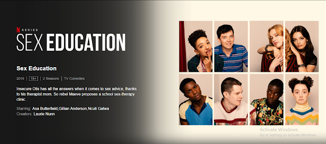 Sex education, Sex Education Series, 18+ Series, 18+ Series Sex Education