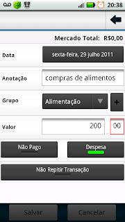 Finanças Pessoais um dos aplicativos Android mais completos para controlar suas contas 5