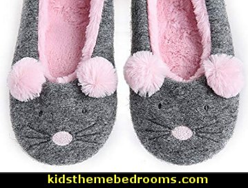 Animal Slippers  - mouse  Pajamas - fun pajamas - family pajamas - sleepwear - fun slippers - novelty socks - cute socks - Girls Pajamas - Boys Pajamas - Christmas pajamas - fun boxers - Christmas gifts - holiday traditions - Christmas socks - Holiday clothing -  Mommy & Me pajamas -