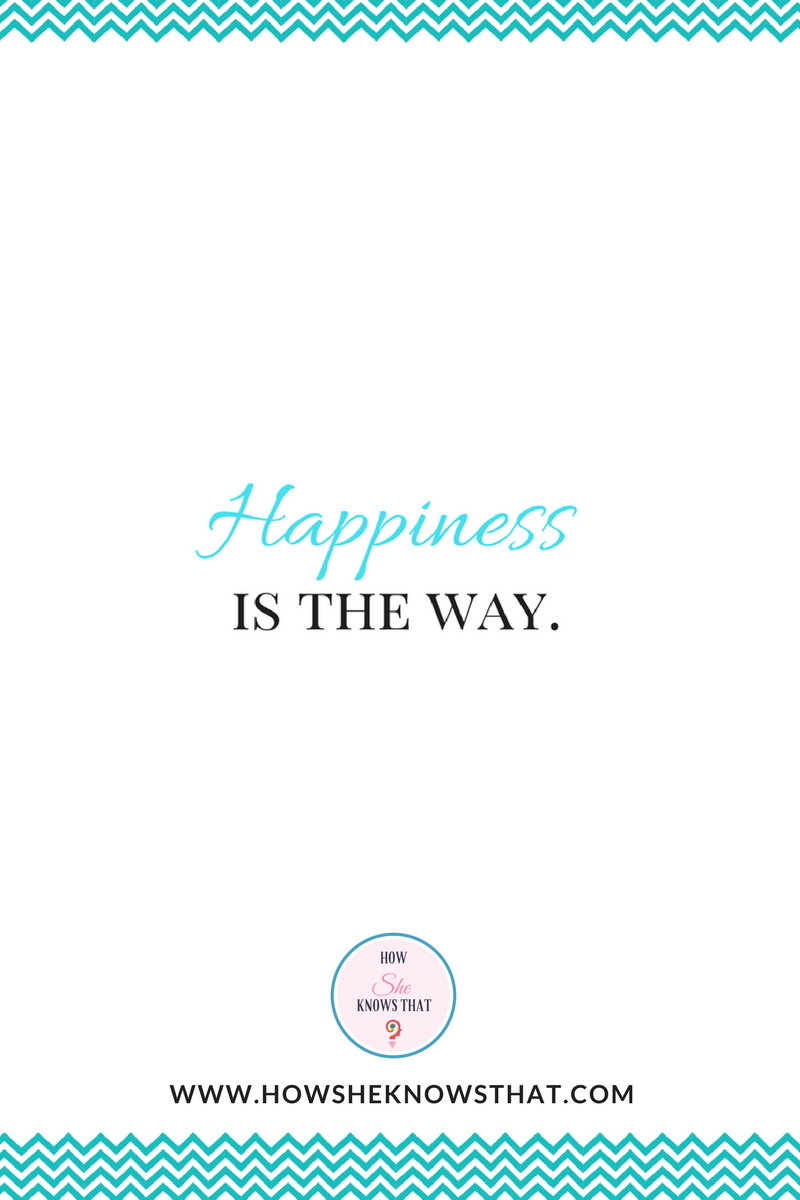 Happiness 😘  ▶ www.howsheknowsthat.com #HowSheKnowsThat #Inspiration #Quotes
