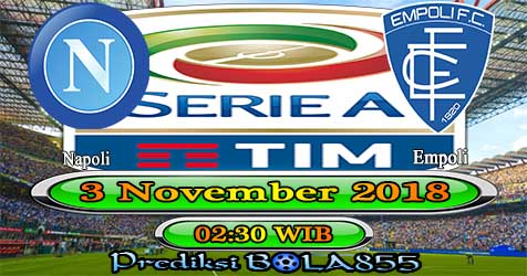 Prediksi Bola855 Napoli vs Empoli 3 November 2018