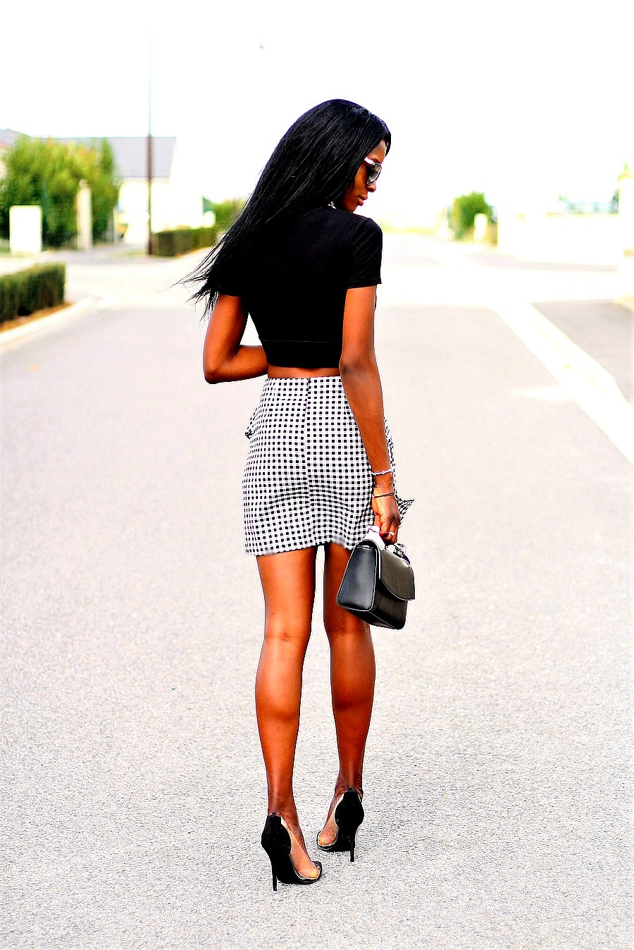 gingham-trend-mini-skirt-style-blogger