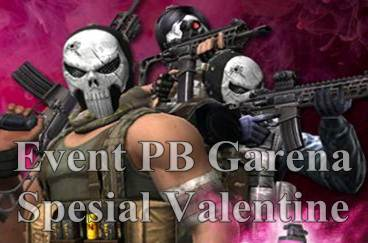 Event PB Garena Menyambut Valentine
