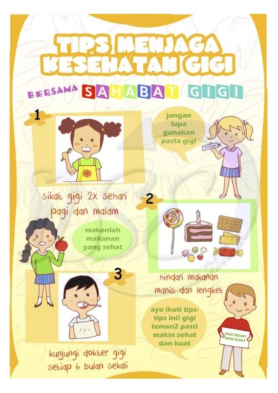 Hidup Sehat Contoh Poster Kesehatan Gigi Dan Mulut