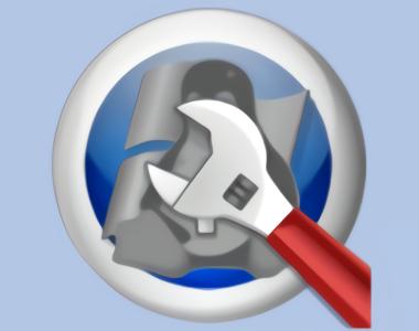Boot repair disk logo