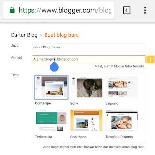Cara membuat Blog gratis di Blogspot bagi pemula.