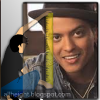 Bruno Mars Height - How Tall