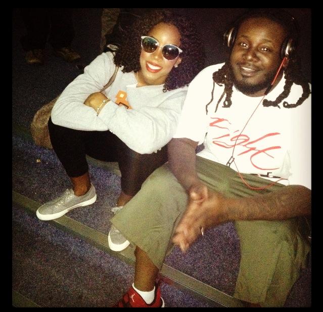 Kelly Rowland & T-Pain Kick It In Australia | MsChindah Blogspot Com
