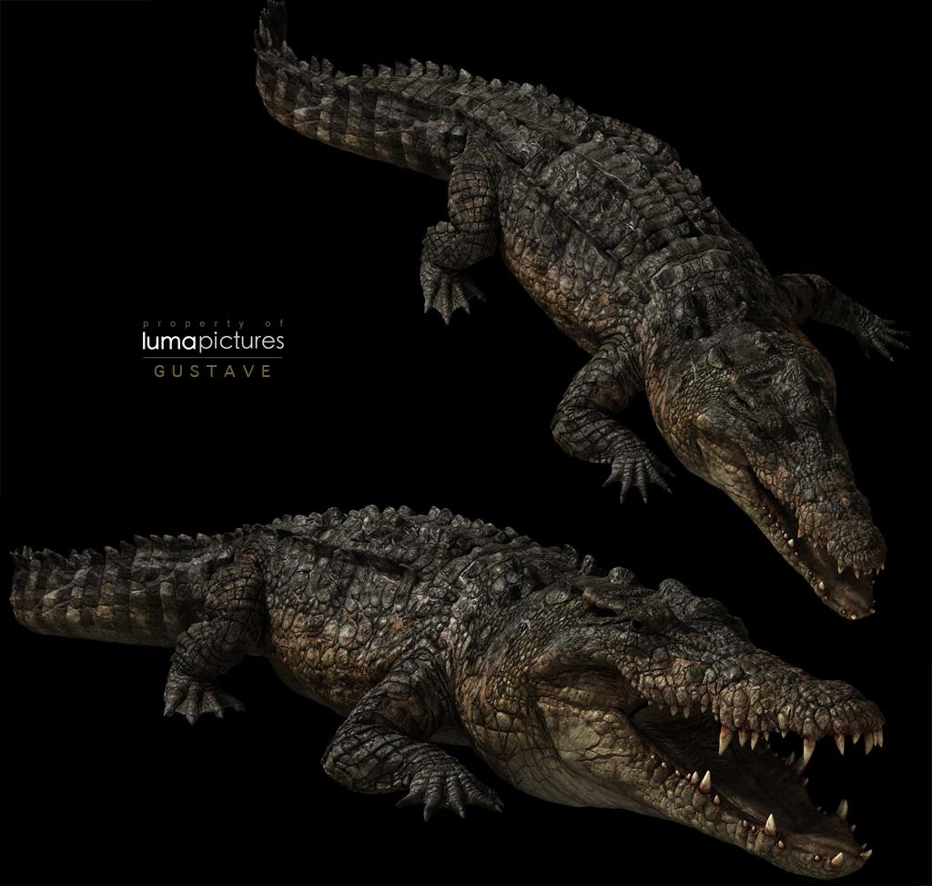 Gustave Crocodile Primeval