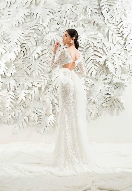 Á hậu Thùy Dung mặc váy cưới