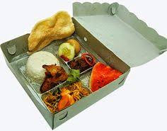 Nasi Kotak Bingkisan Khas Indonesia