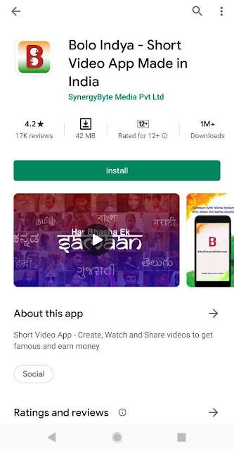 Top 5 Indian App like TikTok
