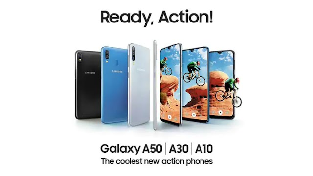Samsung Galaxy A50, Galaxy A30, Galaxy A10 launched in India starting at 8,490 rupees