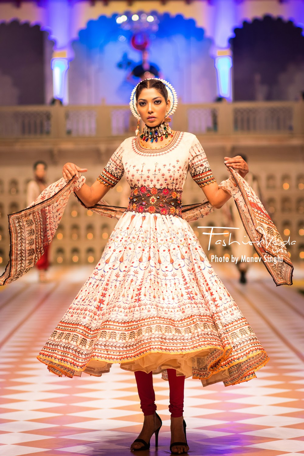 Collection by Rajdeep Ranawat at Fashion Connect Show, Jaipur.